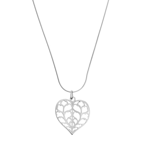 Limited Edition Heart of Yorkshire White Gold Pendant