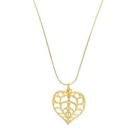 Limited Edition Heart of Yorkshire Gold Pendant