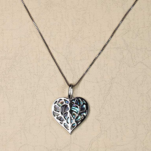 Heart of Yorkshire Abalone Pendant