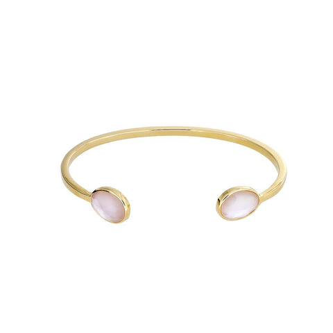 Gold Vermeil & Mother of Pearl Cuff