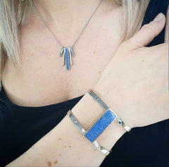 Blue Howlite Statement Jewellery
