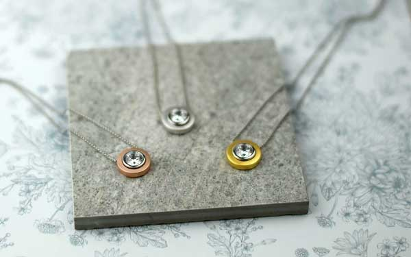 EMBRACE SOLITAIRE NECKLACES
