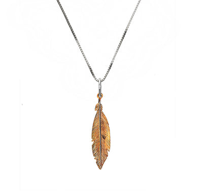 Spirited Away Solo Feather Pendant
