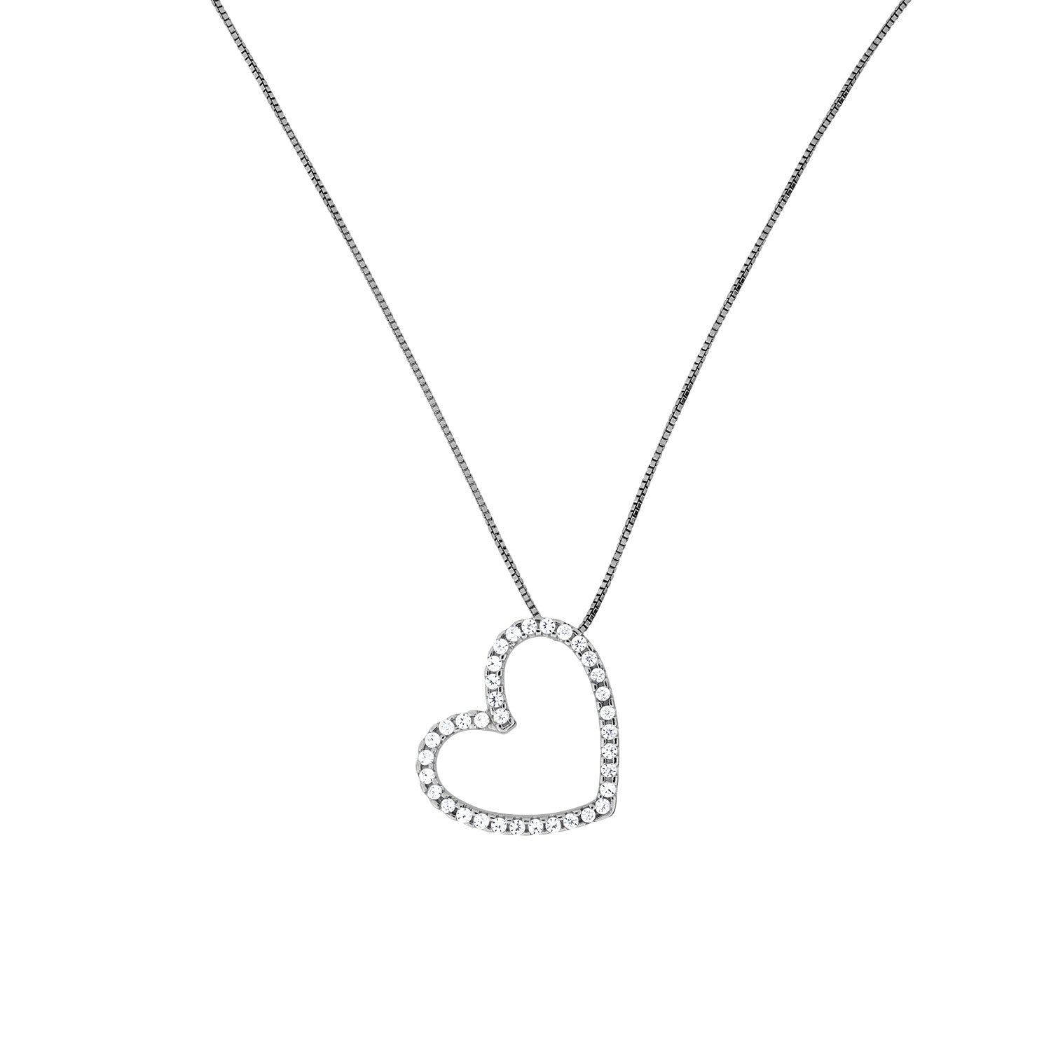 Heart Outline Pendant