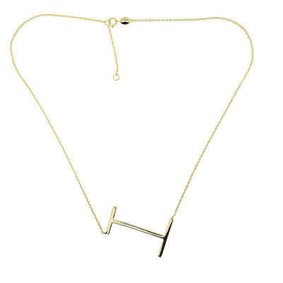 Upper Case Letter Necklace