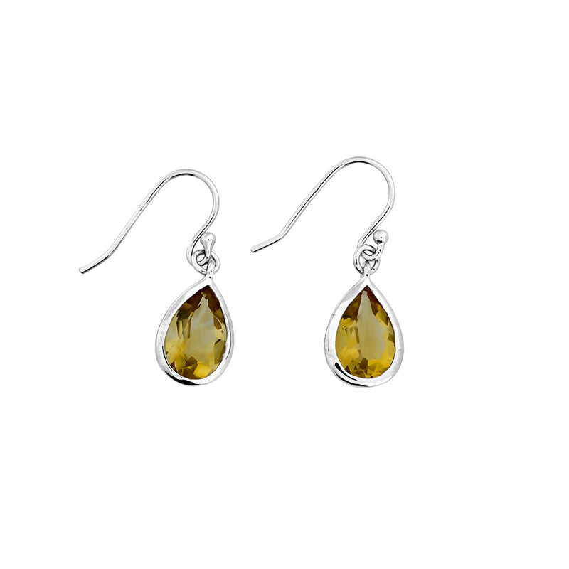 Citrene Teardrop Earrings