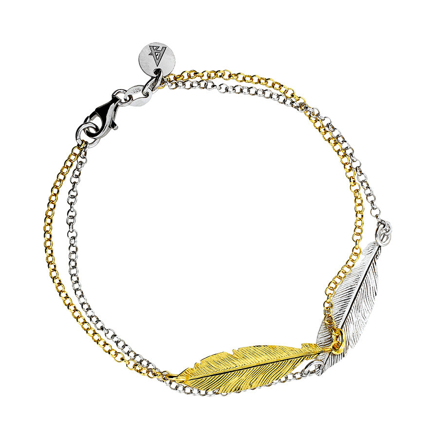 Spirited Away Double Feather Bracelet