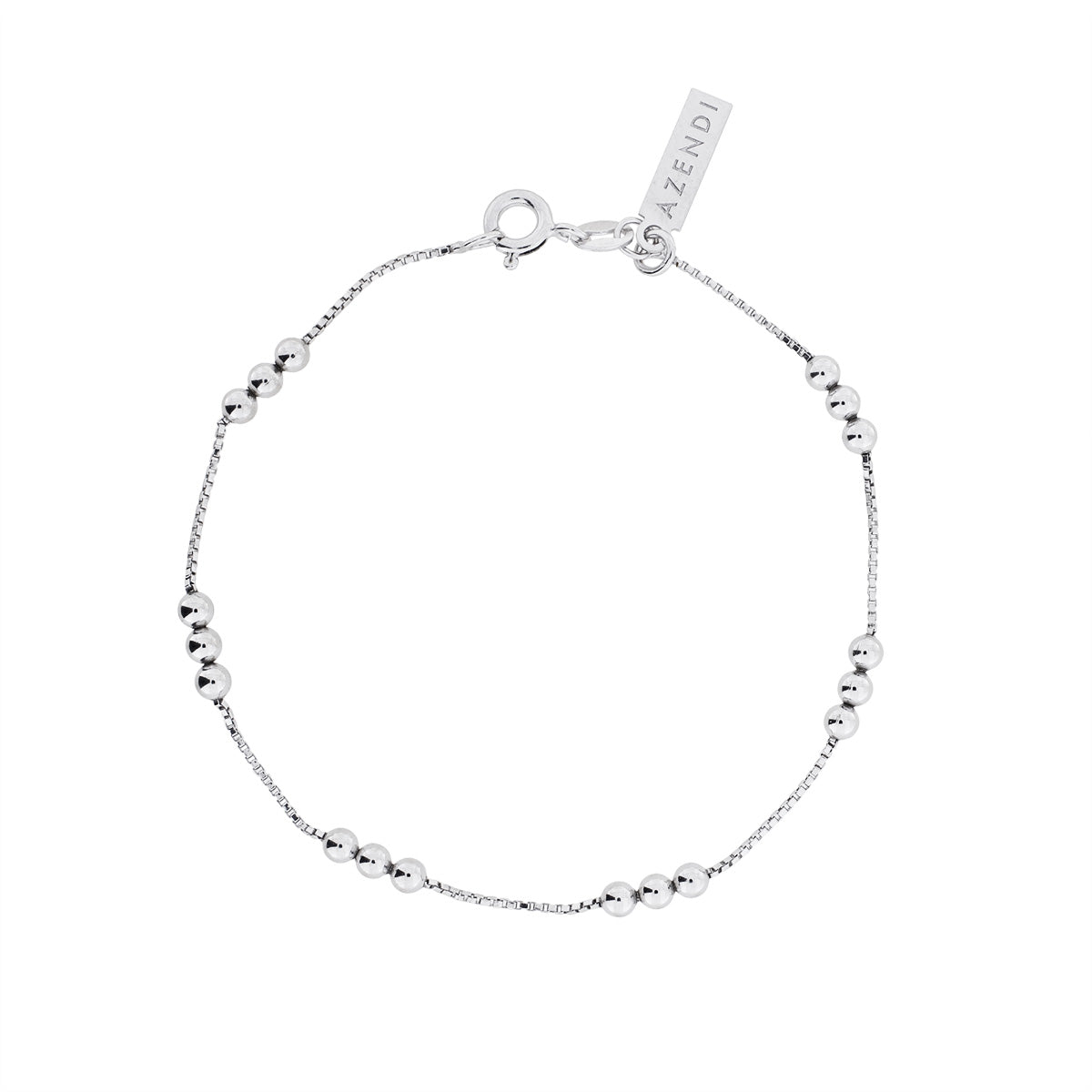 Triple Ball Chain Bracelet