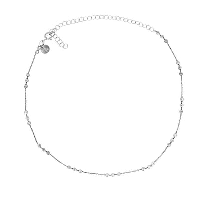 Triple Bead Choker Necklace