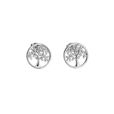 Arbor Vitae Stud Earrings