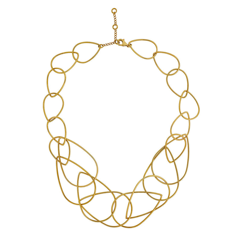 18ct Gold Vermeil Unchained Necklace