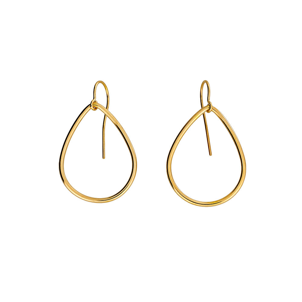 18ct Gold Vermeil Unchained Earrings