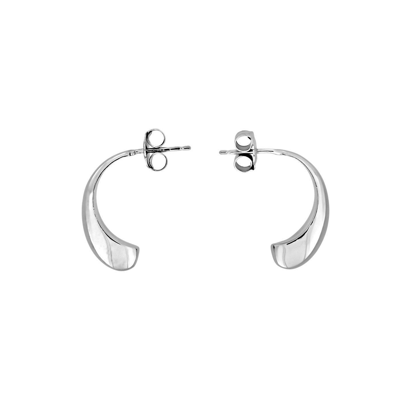 Milano Droplets Half Hoop Earrings