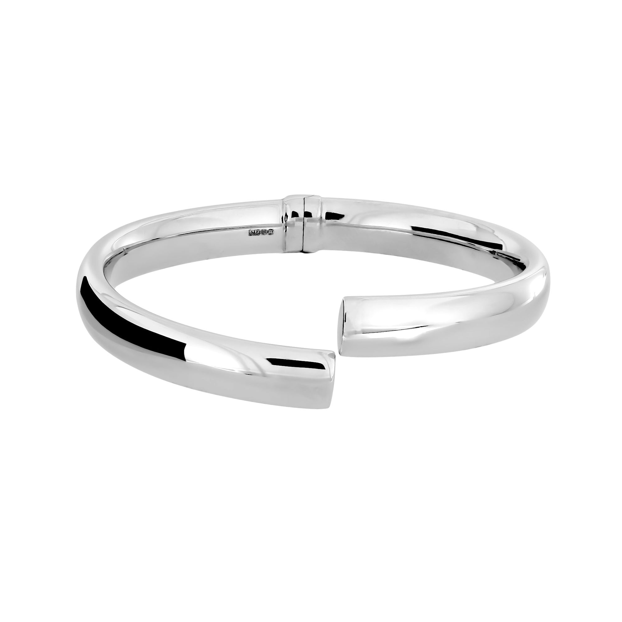 Toscana Wide Crossover Hinge Bangle