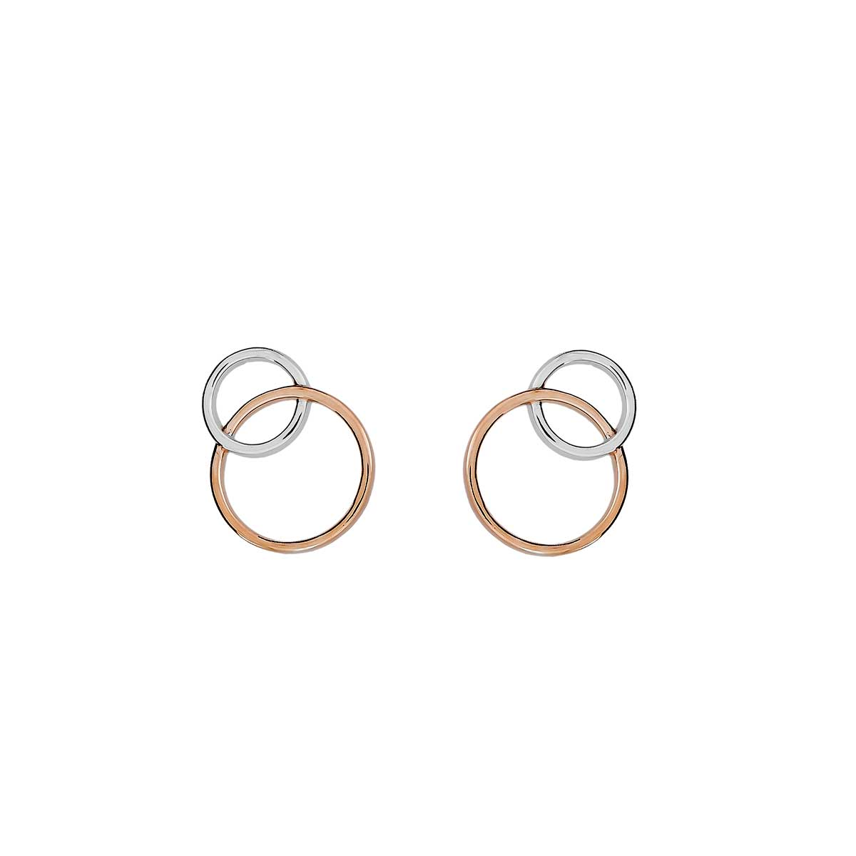 31b1ed6d5 Metropolitan Two Circle Stud Earring