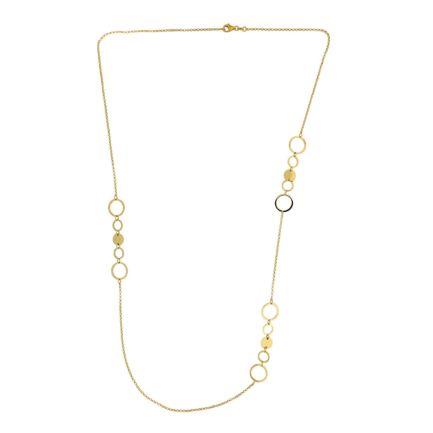 Coniston Long Gold Vermeil Necklace