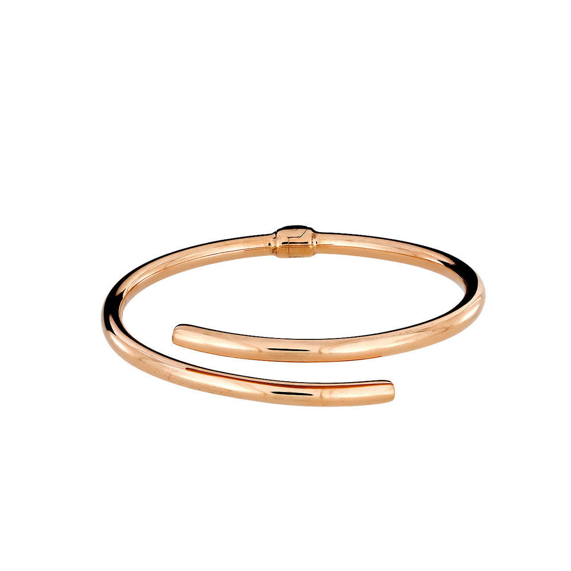 Toscana Slim Crossover Hinged Bangle