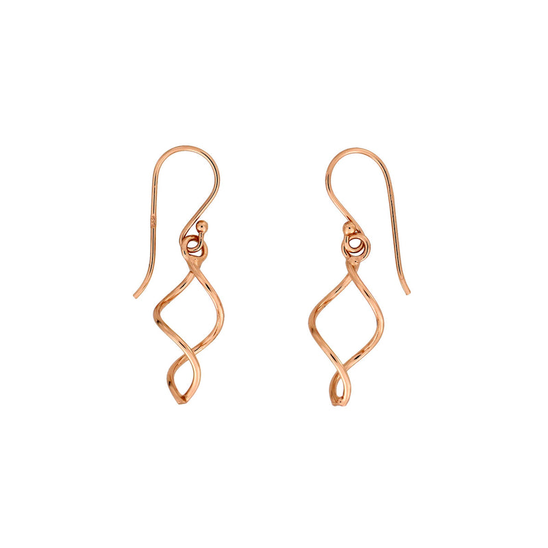 Simple Twist Drop Earring