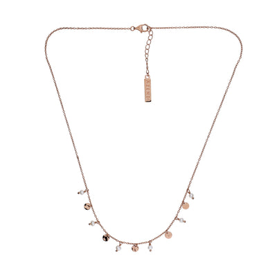 Tribeca Pearl & Disc Necklace