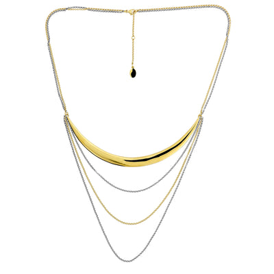 Ithica Bar & Chains Necklace