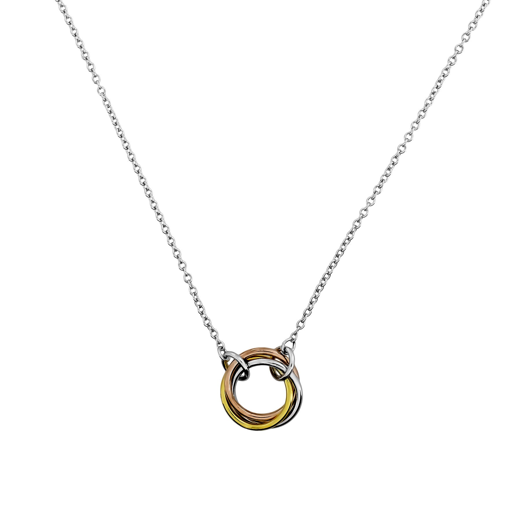 Entangled Love Knot Necklace