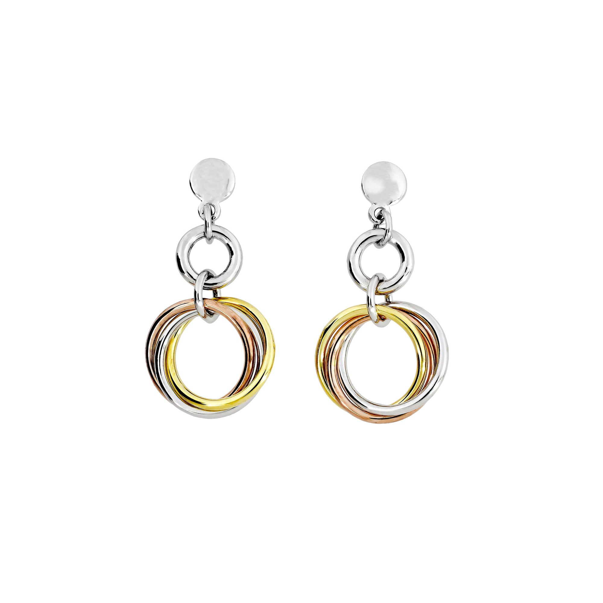 Entangled Love Knot Drop Earring