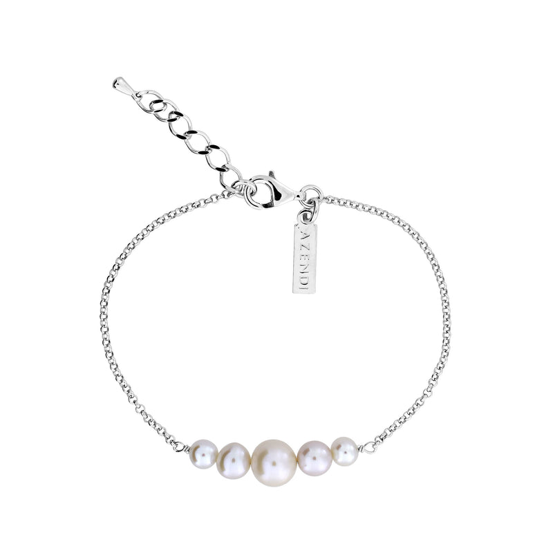 Graduated Pearls Bracelet