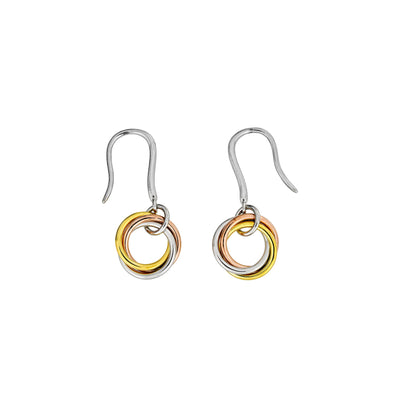 Entangled Love Knot Simple Drop Earring