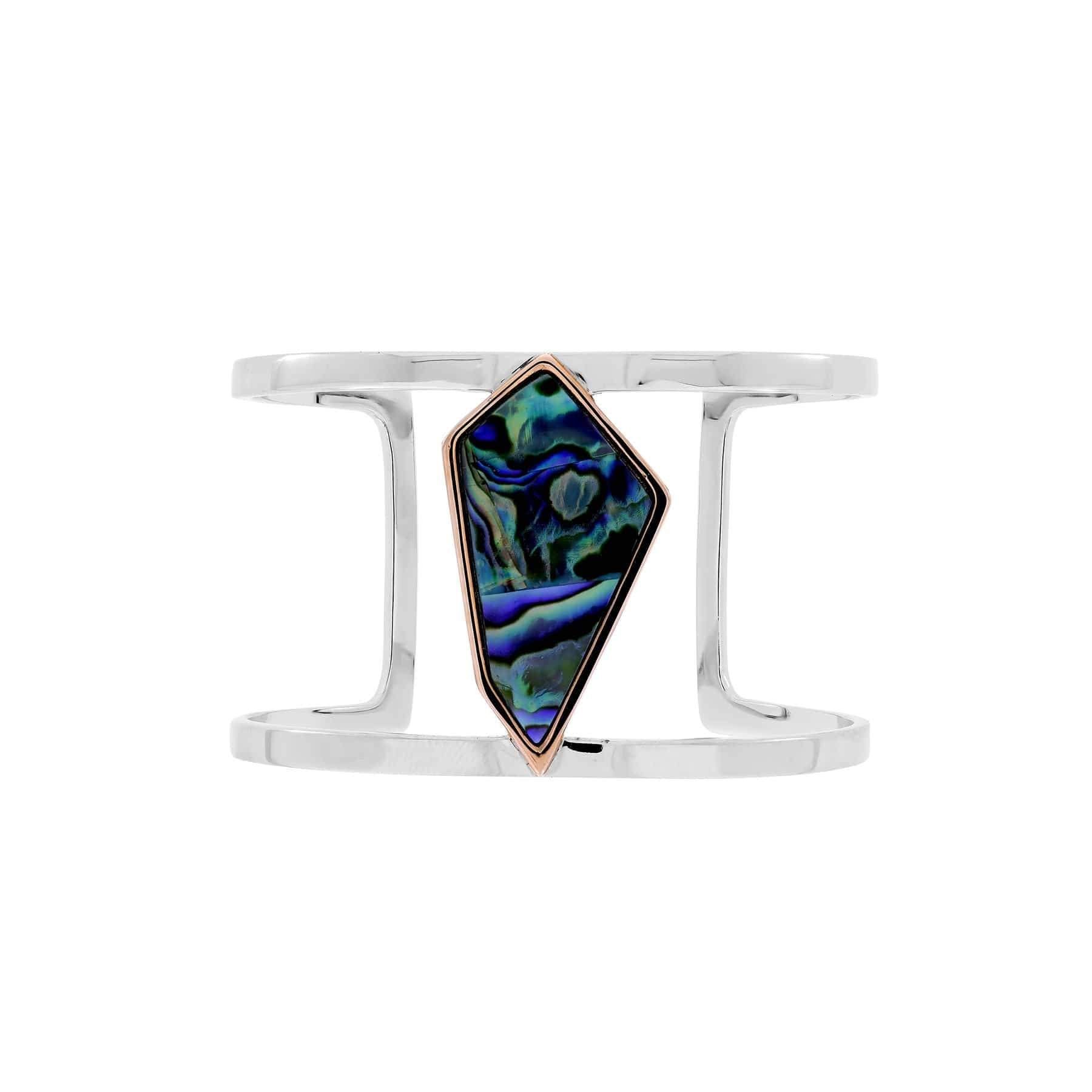 Abalone Pinnacle Statement Cuff