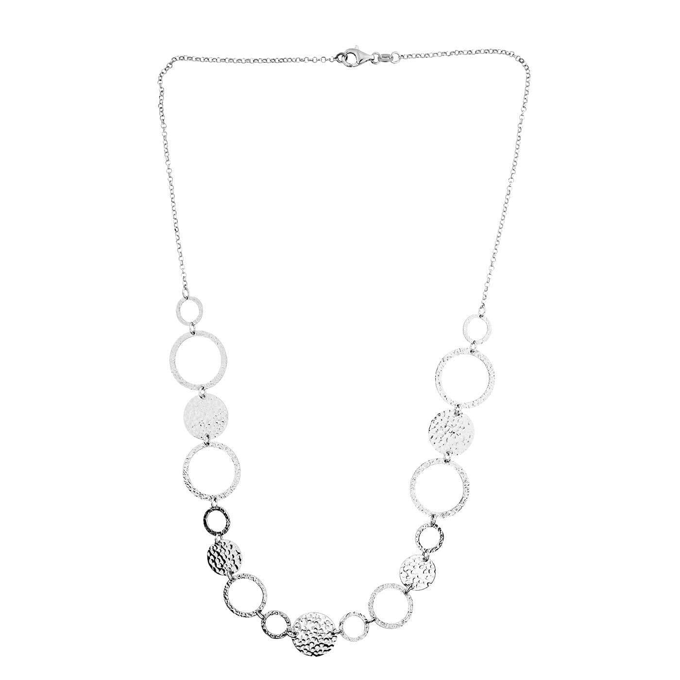 Coniston Flowing Silver Necklace
