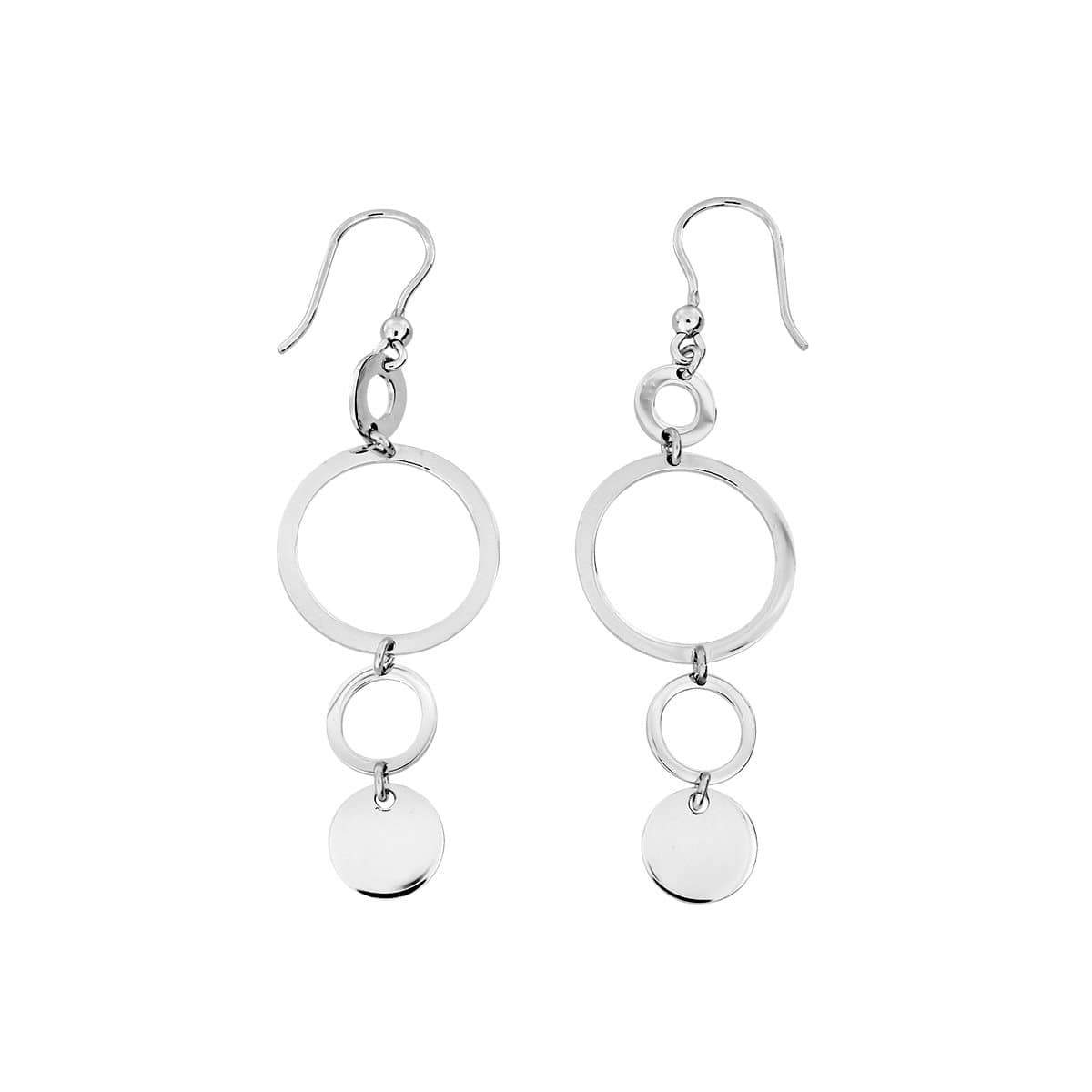 Coniston Silver Drop Earrings