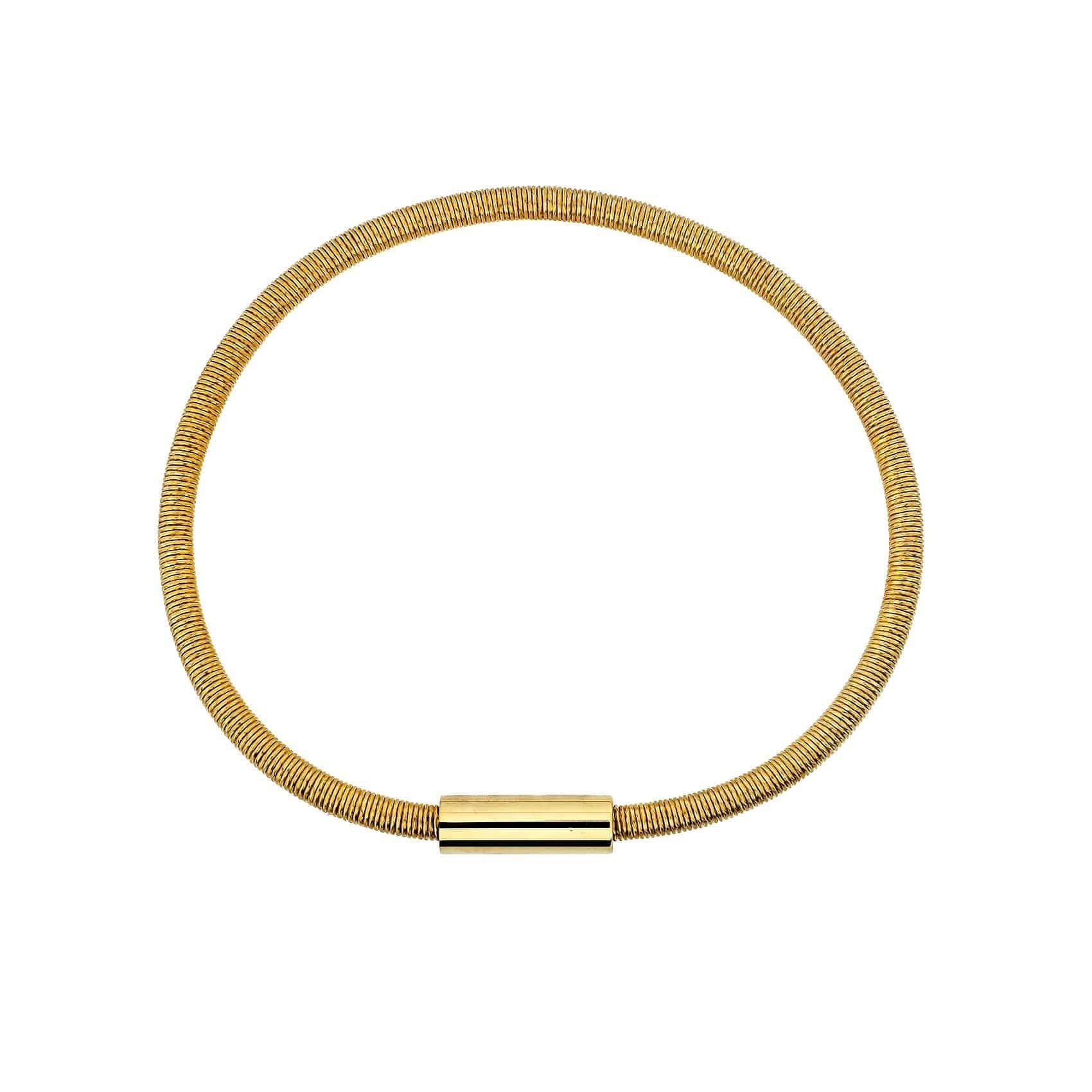 Rose Gold Vermeil Magnetic Flexible Bracelet