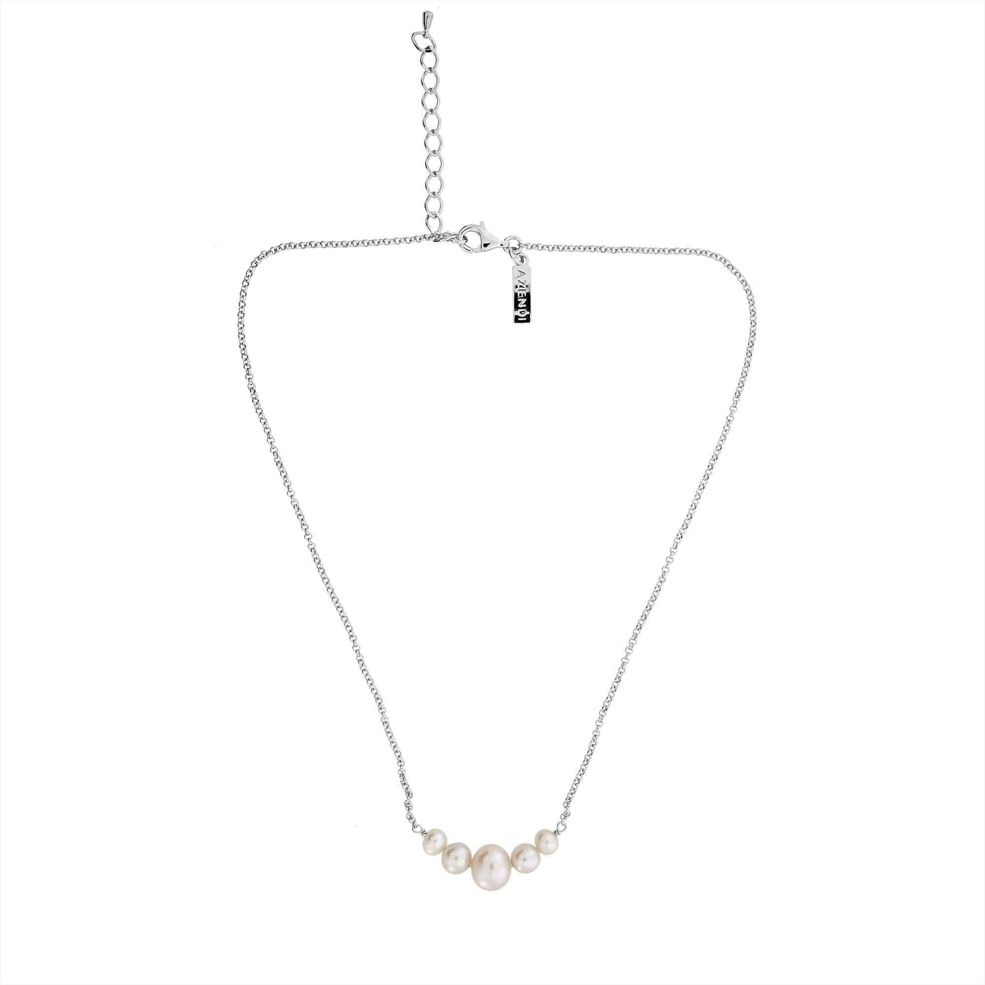 Graduated Pearls Necklace
