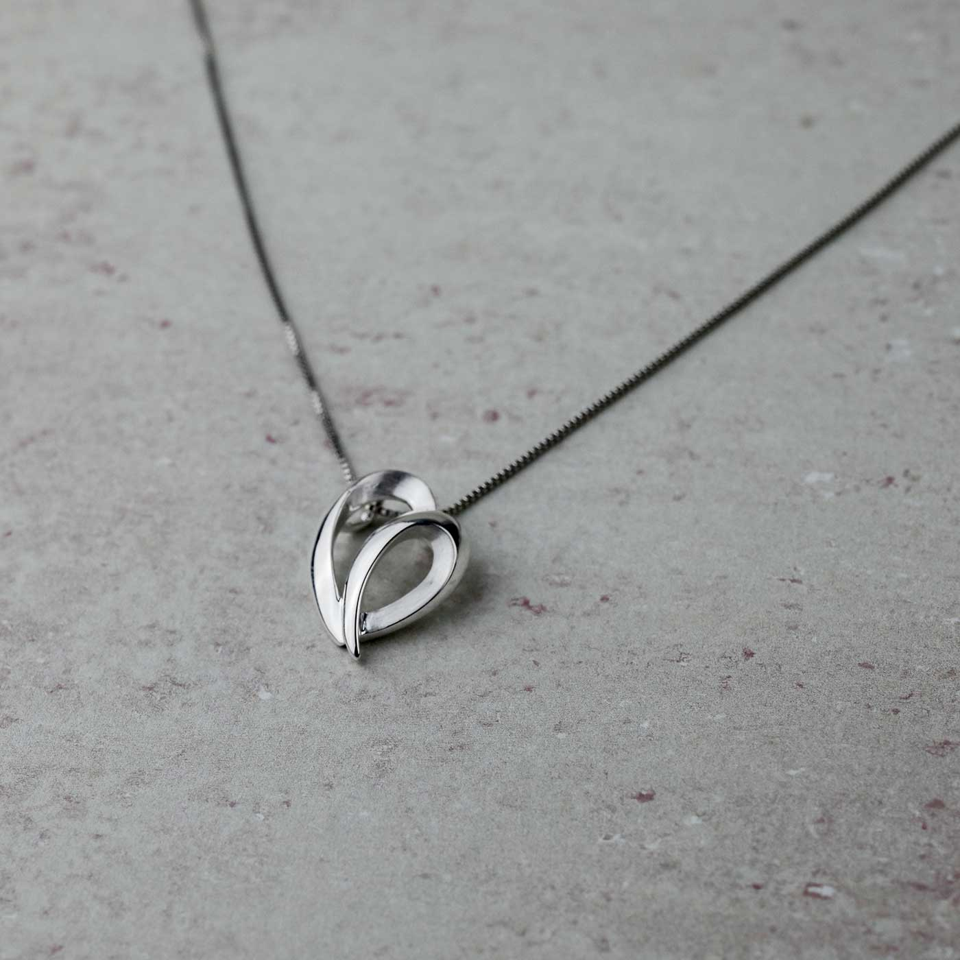 Leaping Heart Pendant