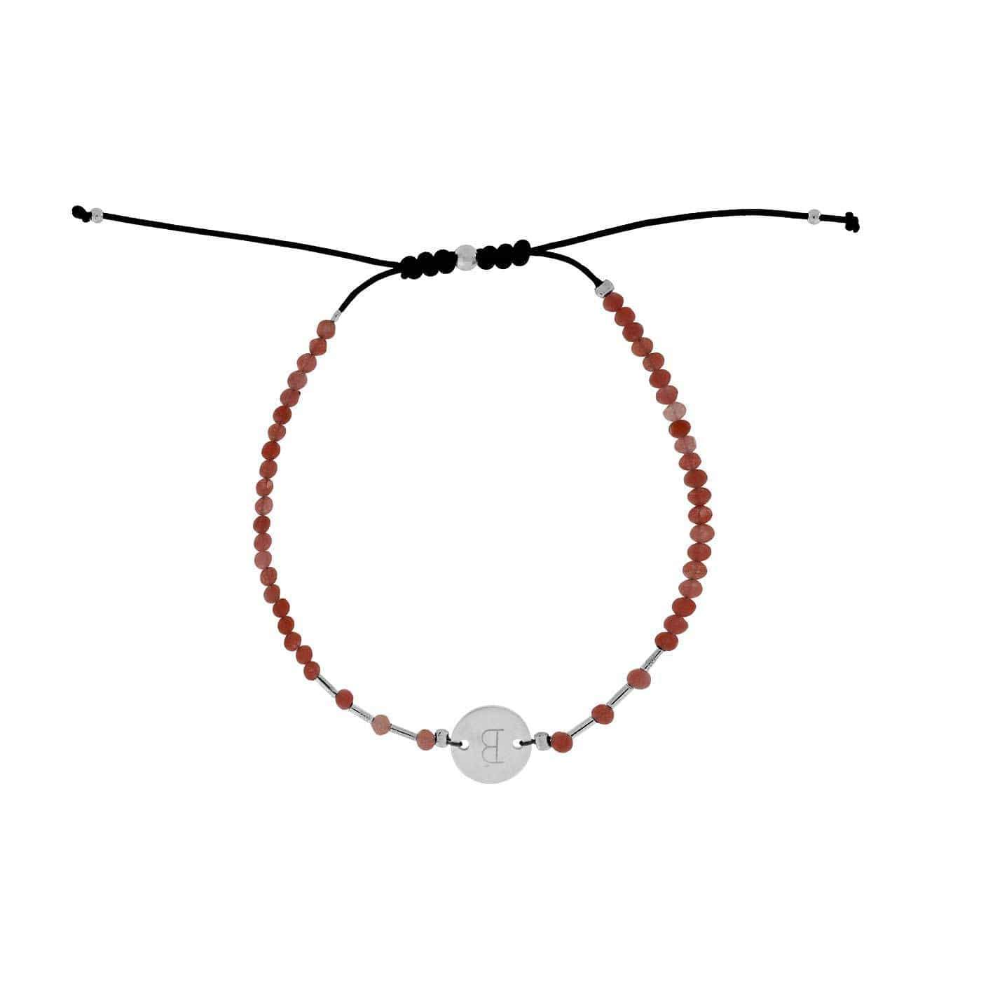 Letter B Gemstone Friendship Bracelet