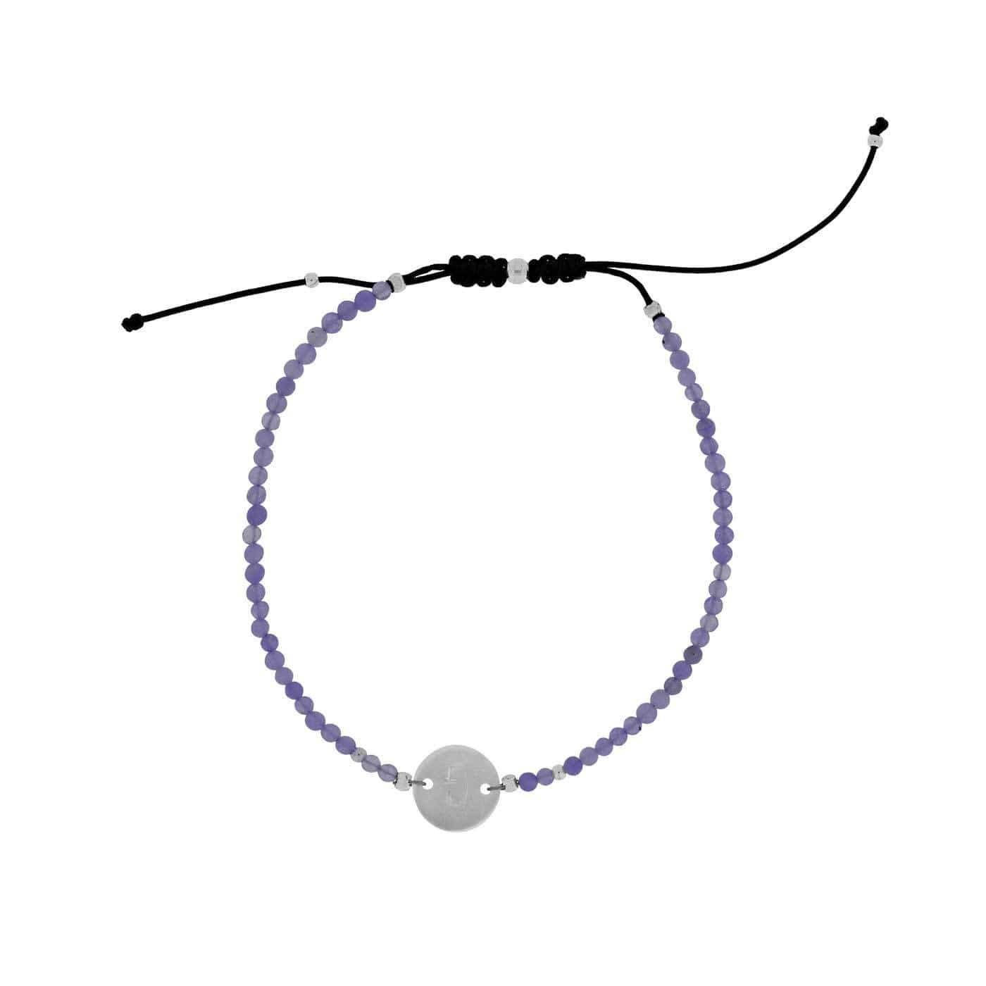 Letter G Gemstone Friendship Bracelet
