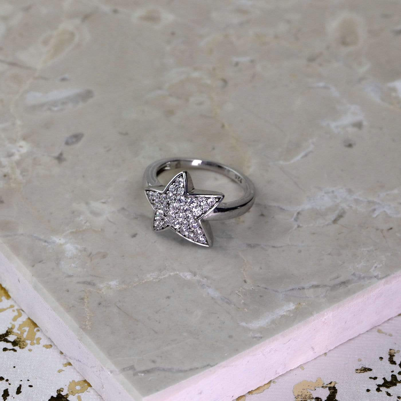 Pavé Star Ring