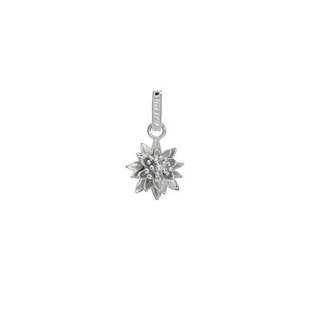 Silver Waterlily Charm