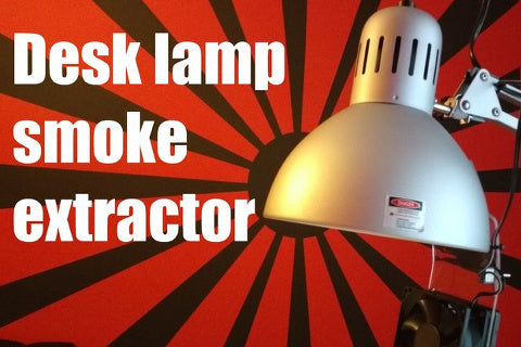 Engineer of None's desk lamp smoke extractor