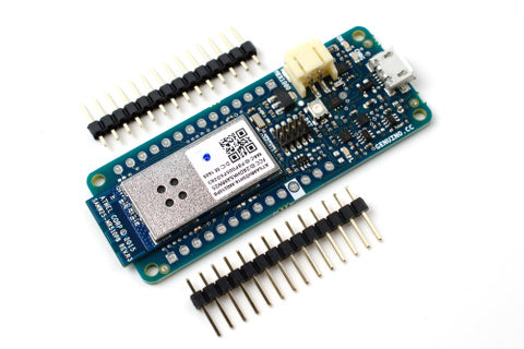 Genuino MKR1000 board and headers