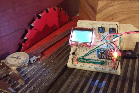 Arduino Table Saw Project by Rocket Scientist