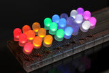 10 mm Frosted LED Rainbow Pack (3 x 8 Colours 24 LEDs)