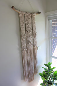 Georgia Extra Large Entryway Macrame Wall Hanging - Limited Edition