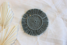 Load image into Gallery viewer, Round Macrame Coasters