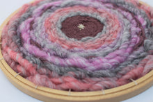 Load image into Gallery viewer, Woven Embroidery Hoop Wall Hanging
