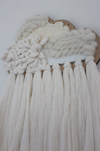 Cloud Woven Wall Hanging