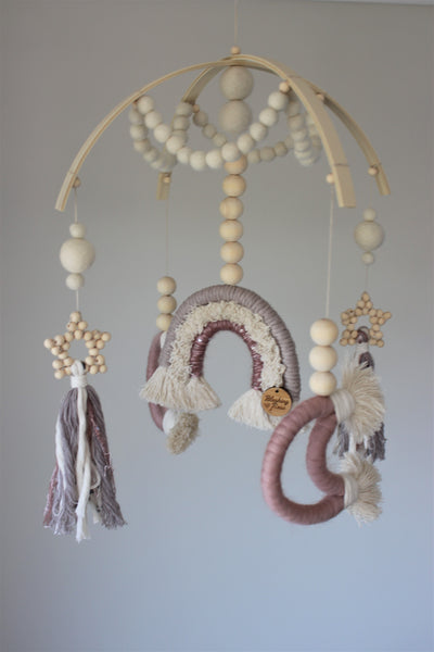CUSTOM MADE - Macrame Baby Mobile
