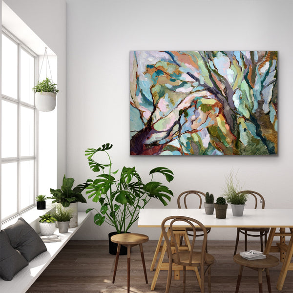 Eucalypt Forest Canvas Print