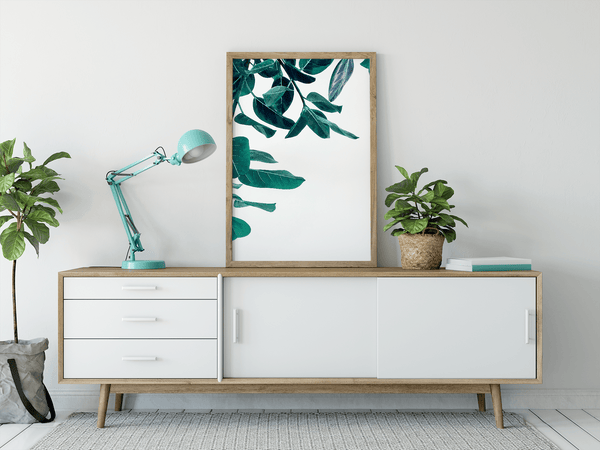 Hanging Gardens simple print wall art