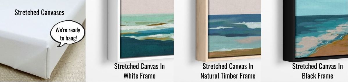About Our Stretched Canvases